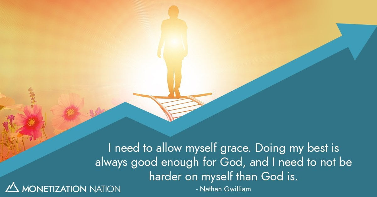 Giving myself grace