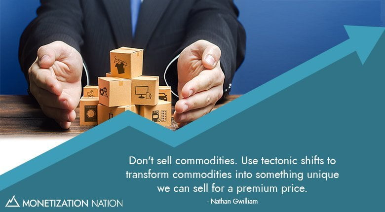 commodities tectonic shifts transform unique premium price